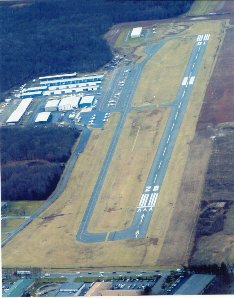 Airport Aerial Picture taken 2008 by Photographer Dick Costello