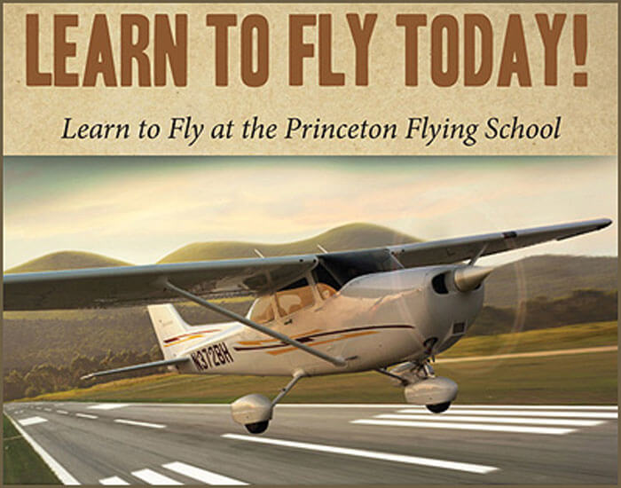 Learn To Fly Today at Princeton Airport 700
