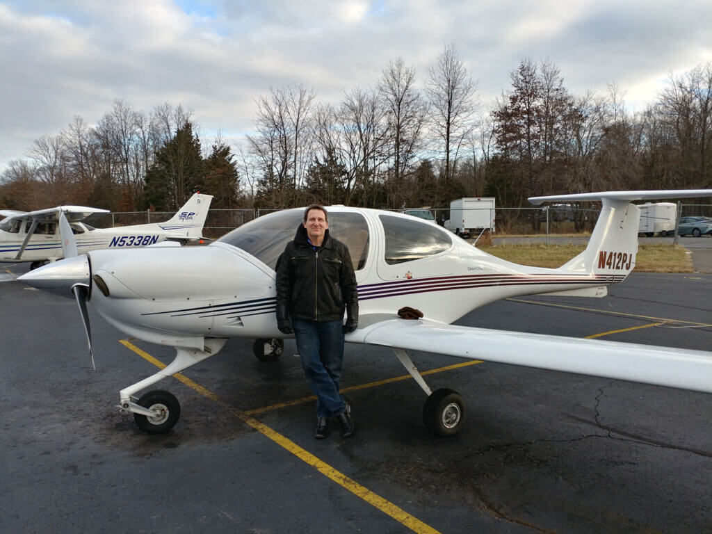 Jeff Slutsky, Chief Pilot, Princeton Flying School