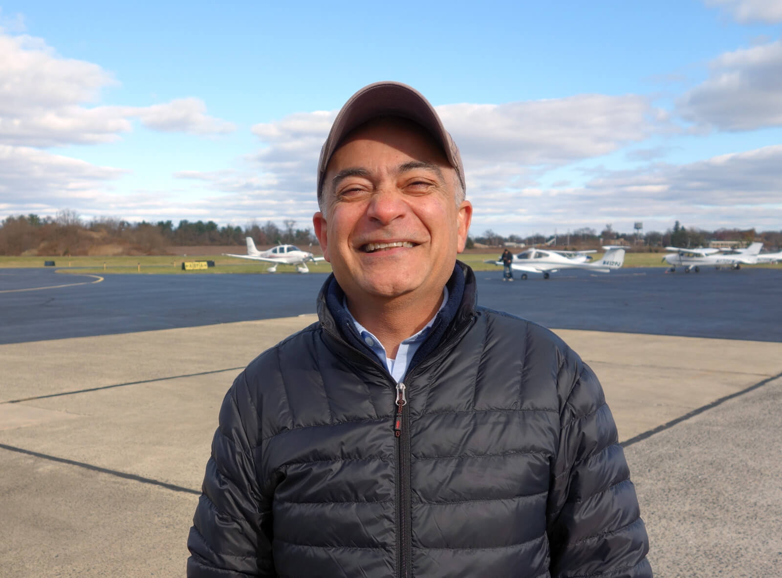 Sal Parsi, CFI, Princeton Flying School