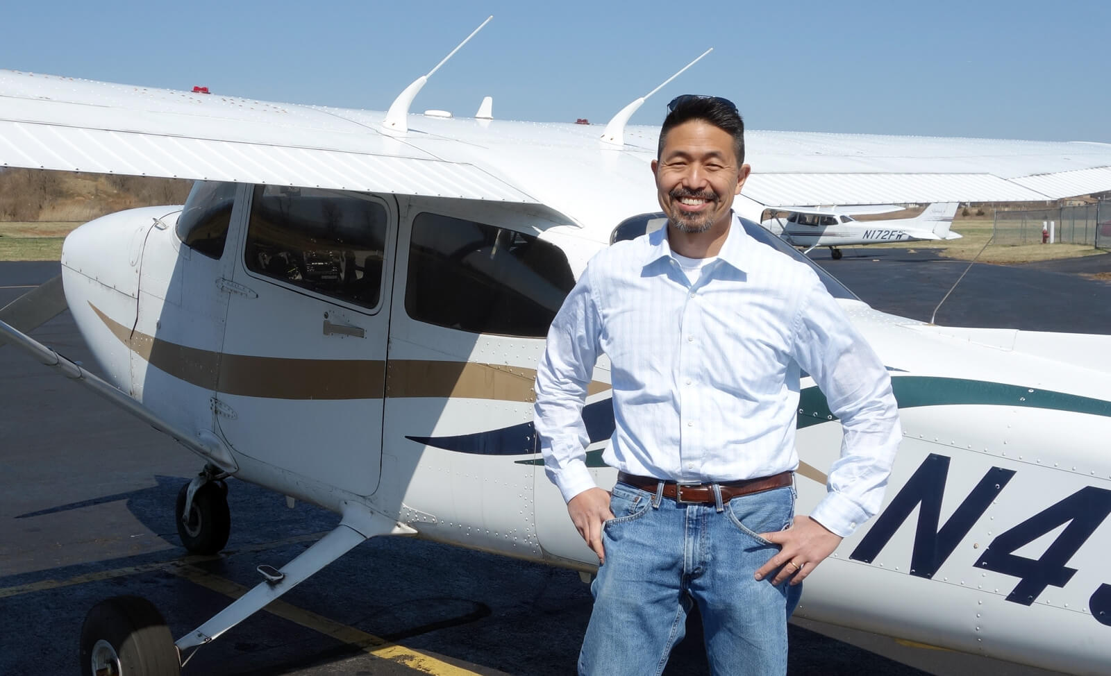 Howard Shin, CFI Princeton Flying School
