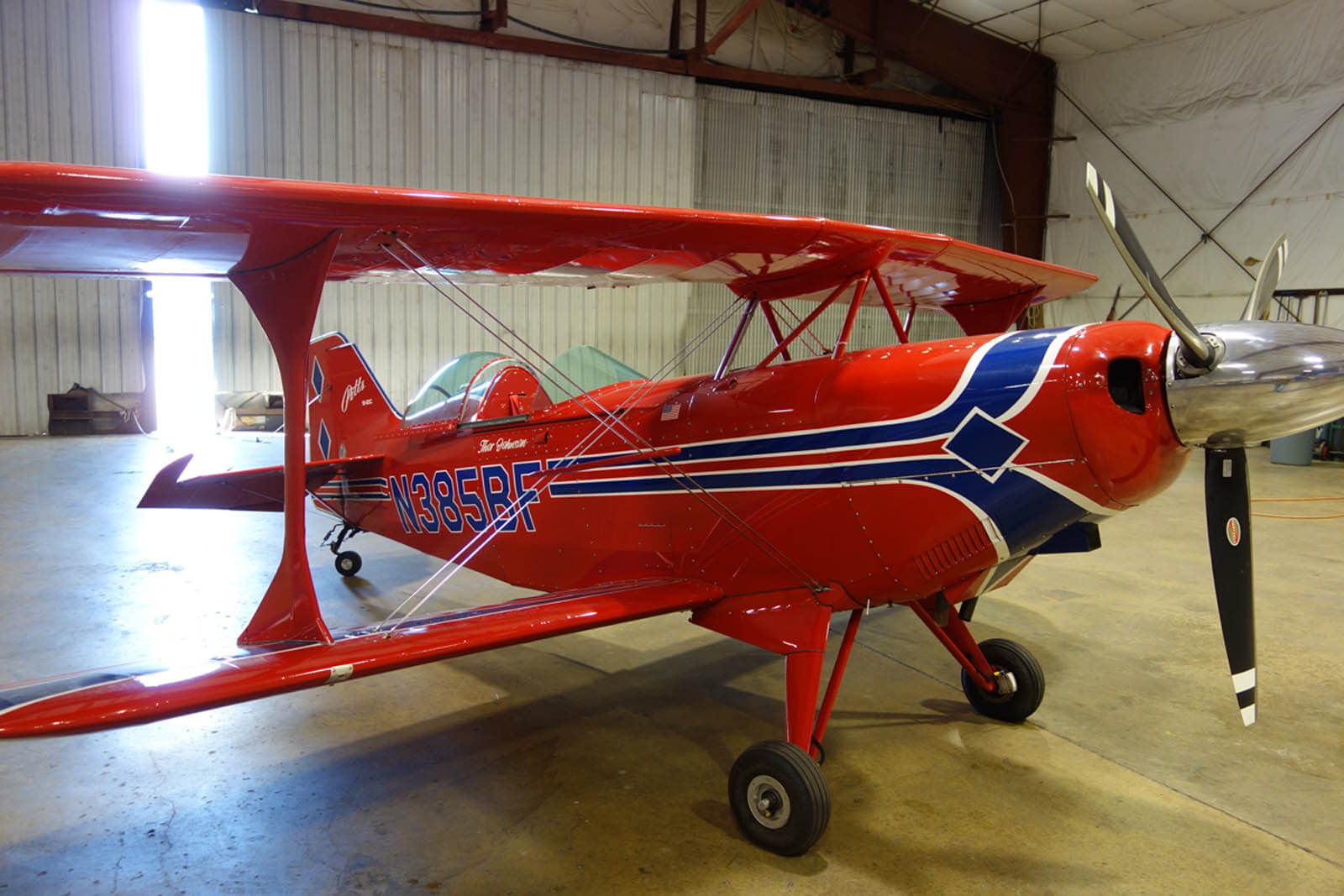 2007 Pitts S2C - FOR SALE at Princeton Airport ~ Contact Ken Nierenberg at 609-731-4628 for details