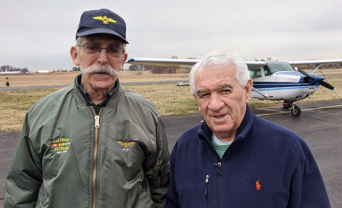 Pete Rafle Hosts Bill Ducharme and Princeton Flying School Podcast